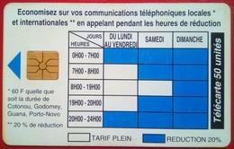 Timetable 50 Units - Benin