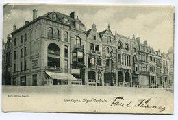 CPA - Carte Postale - Belgique - Wenduyne - Digue Centrale - 1905 (SV6545) - De Haan