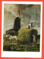 Horses. USSR 1963. Painting Of Artist Vorobiev. Postcard. New. - Altri