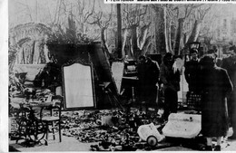 66 - Perpignan - Marché Aux Puces Au Cours Palmarole (platane) 1950 - Perpignan