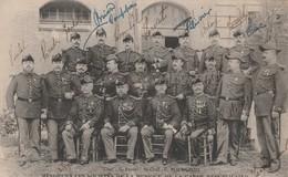 Rare Cpa Des Solistes De La Musique De La Garde Républicaine Avec Noms - 1914-18