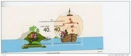 Cap Vert-Cabo Verde-1992-Caravelle, Ch Colomb-B17***mnh- - Cap Vert