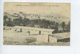 Cp De Collection A Voir - Tunisie - Campagne 1915-17 - Dehibat - Le Camp De La Palmeraie - Tunisia