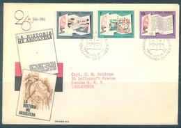 CUBA - FDC - 26.7.1966 - LA HISTORIA ME ABSOLVERA  - Yv 246 247 250 Mi 1188-1189-1192 - Lot 18467 - FDC