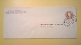 1926 BUSTA INTESTATA INTERO POSTALE BOLLO PRESTAMPATO 2 CENTS ANNULLO WEBSTER - Stati Uniti