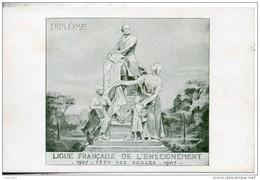 Ligue Française De L'enseignement. 1907. Fetes Des Ecoles - Histoire