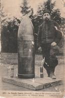Rare Cpa Obus De 420 Allemand Dans La Région De Verdun - 1914-18