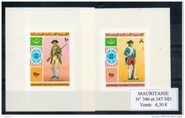 Mauritanie. Bicentenaire De L'indépendance Des Etats Unis. Non Dentelé - Mauritanie (1960-...)