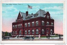 Etats Unis. Post Office Jackson. Traces De Colle Au Verso - Etats-Unis