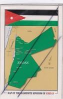 Jordanie. Map Of The Hashemite Kingdom Of Jordan (carte De Jordanie ) - Jordanie