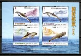 China Taiwan 2006 /  Marine Mammals Whales MNH Mamiferos Marinos Ballenas Säugetiere / Cu10223  30 - Walvissen
