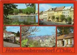 1065476 - Münchenbernsdorf/Thür., Sommerbad - Markt - Cafe Am Eichberg - Deutschland