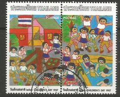 Thailand - 1987 Children's Day CTO   Sc 1169a - Thailand