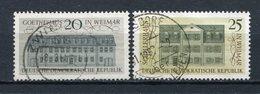 DDR Nr.1329/30          O  Used       (21366) ( Jahr: 1967 ) - [6] République Démocratique