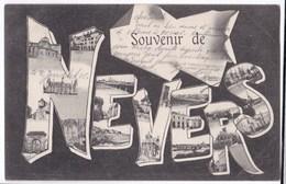 Nevers Cpa Souvenir De Nevers Anno 1905 - Nevers