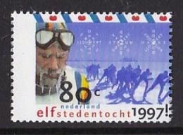 Nederland - Friesland - Elfstedentocht - Pompeblèd - Schaatsen/ice Skating/Skaten- MNH - NVPH 1710 - Winter (Varia)