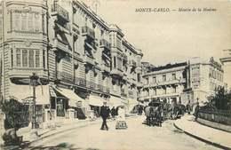 MONACO MONTE CARLO  Montée De La Madone  CACHET HOPITAL AUXILIAIRE Alexandra - Monte-Carlo
