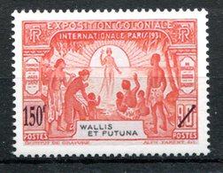 Wallis & Futuna : Yvert 650 Neuf Xxx - 59e Salon D'automne Les Premiers Timbres De Wallis - T 772 - Wallis-Et-Futuna
