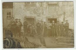 SAINT LEGER - Usine Dominicy - 1913 - Carte Photo - Saint-Léger