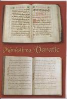 Romania, Varatic Monastery, Manuscripts In Cyrilic Alphabet Unused (ask For Verso) - Musées