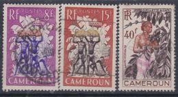 Cameroun N° 297 / 99 O Série Courante Les 3  Valeurs Oblitérations Très Faibles à Moyennes SinonTB - Cameroun (1915-1959)