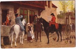Halting At An Inn (Meissonier). Wallace Collection - 1909 - England - Geschiedenis