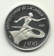 1987 - San Marino 500 Lire - Zagabria - San Marino