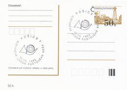 I0491 - Tchécoslovaquie (1992) Kosice 1: Chariot à Cheval, Poste - Poste