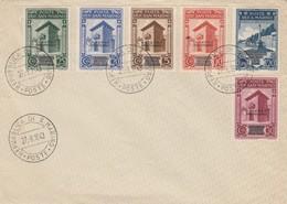 LETTRE SAINT-MARIN. 27 8 1943. N° 247/251. GOVERNO PROVVISARIO - Saint-Marin