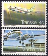 TRANSKEI - 1er Vol Umtata Johanesburg Par Transkey Airmays - Transkei