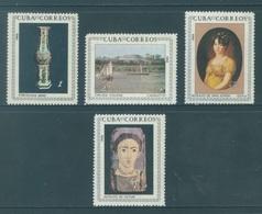 CUBA - MNH/** - 1966 - PAINTS  - Yv 971-974 - Lot 18470 - Cuba