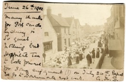 1902 Privately Made RPPC LYDNEY Local Street Procession Women And Children Handstamp LYDNEY - England
