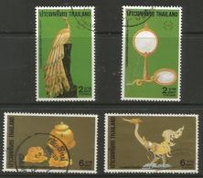 Thailand - 1987 Handicrafts (Thaipex) Used   Sc 1175-8 - Thailand