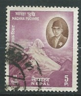Népal   -  Yvert N° 114 Oblitéré    -  Ai26814 - Nepal