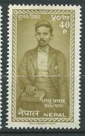 Nepal  Yvert N°132 * - Ai26822 - Népal