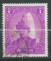 Nepal  Yvert N°  117  Oblitéré - Ai26827 - Népal