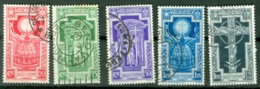 Italie    Yvert  325/329  Ou  Sassone  345/349   Ob   TB - 1900-44 Vittorio Emanuele III