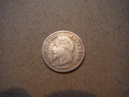M13   20 Centimes Napoléon III 1867A  Argent - Frankrijk