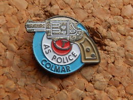 Pin's - AS POLICE COLMAR - HAUT RHIN 68 - Police