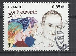 FRANCE 2017 - LOI NEUWIRTH, POLITICIAN - OBLITERE USED GESTEMPELT USADO - Oblitérés