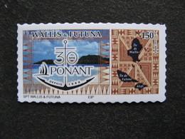 """Wallis Et Futuna: TB Timbre Autoadhésif :"""" 30 Ans PONANT"""" ,  Hors Programme.Neuf XX . - Wallis-Et-Futuna"""