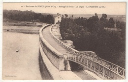 21 - Environs De SEMUR - Barrage De Pont - La Digue - La Passerelle - Gautheron 11 - Frankrijk