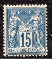 """""""Type Sage"""" N° 90 Neuf ** Gomme D'Origine Sans Charnière à 16 % De La Cote  TTB - 1876-1898 Sage (Type II)"""