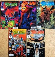 SPAWN - Mensual - N° 1, 2, 3, 4, 6 .( En Espagnol ) . - Livres, BD, Revues
