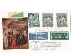 21017 - Christkindl 1967 Lettre Christkindl 27.11.1967 Pour Toronto Canada + Vignette über Christkindl - Noël
