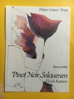 9080 - Pinot Noir Salquenen Erich Kuonen Suisse - Art