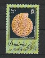 MiNr. 517 Dominica  / 1976, 20. Dez. Meeresschnecken. - Dominicaine (République)