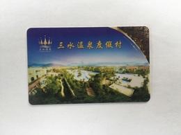 Sanshui Hot Spring Resorts China - Cartes D'hotel