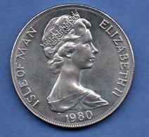 Isle Of Man   - 1 Crown 1980 -  état  SUP - Grande-Bretagne