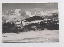 CORDON - Le Clocher Et La Chaine Du Mont Blanc - Altri Comuni